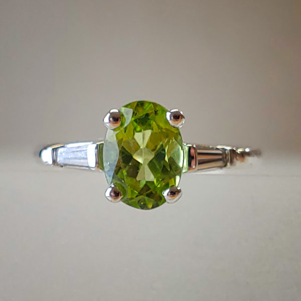 Oval Cut Peridot